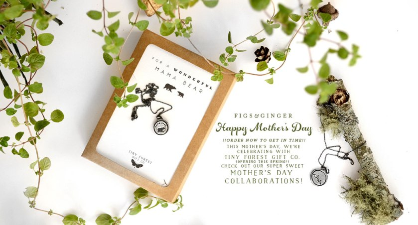 Mama Bear Mother's Day Necklace